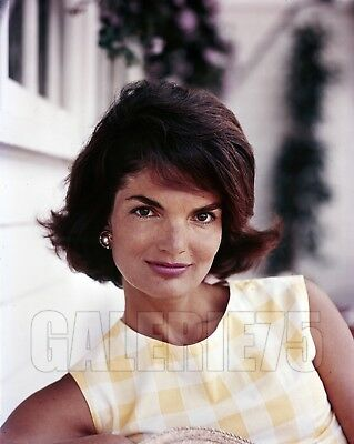Jackie Kennedy Kodak Ektachrome Transparency by Jacques Lowe 1961