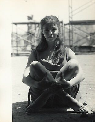 Anna Maria Pier Angeli ,  1962 suite de 3 photographies originales