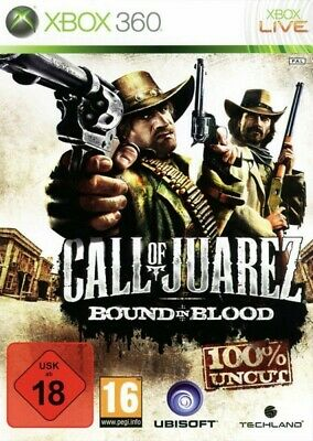 Microsoft Xbox 360 game - Call of Juarez: Bound in Blood boxed