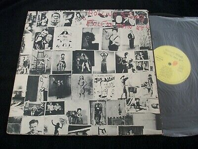 33T The Rolling Stones Exile On Main St+Cartes Postales Original France 1972