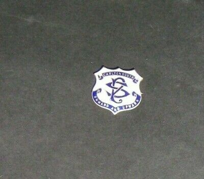 Carlton South  School Badge Nice Scarce With Pin Maker Angas And Coote
