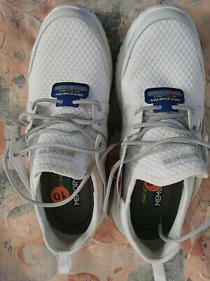 589ee20fba14 Skechers Rough Cut Mens Casual Trainers Cushioned Comfort Walking Shoes  White