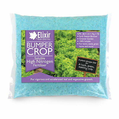 Elixir Gardens | Bumper Crop High Nitrogen Fertiliser – 4 : 1 : 2