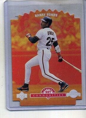 Barry Bonds 1996 Upper Deck Hot Commodities Card #hc12