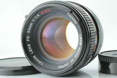 **Near Mint** Canon FD 50mm f/1.4 S.S.C MF Prime Lens FD Mount ssc from JAPAN