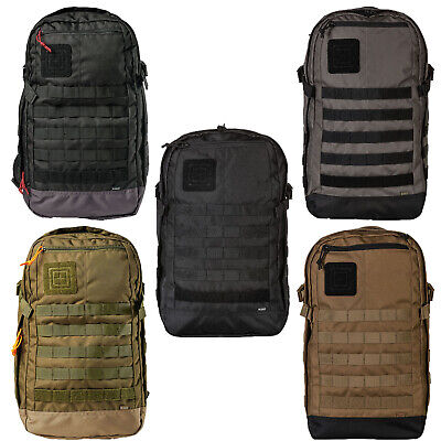 5.11 Tactical Rapid Origin Pack 25L Backpack MOLLE Hydration Pocket, Style 56355