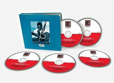 John Coltrane 58 Prestige Recordings CD Box Set New Pre Order 29/03/19