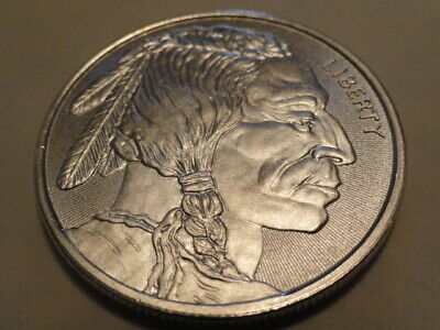 Liberty Indian Head/Buffalo 1 Troy oz..999  Silver Buillion 0219
