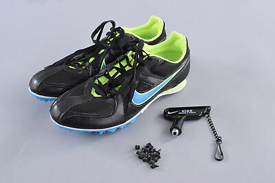 big sale a3f93 a04fc Nike Zoom Rival MD 6 Running Shoes Mens US 7.5 Womens US 9 Black Track  Sprint