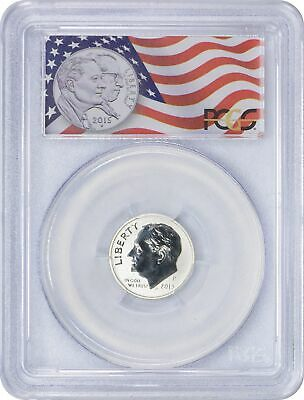 2015-P March of Dimes Silver Reverse Proof Dime From Set PR69 PCGS First Strike