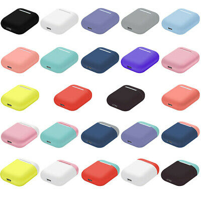 Silicone Case For AirPods  Cover Protective Skin for Apple Airpod Charging Case