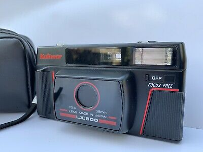 Vintage Kalimar LX-600 Point & Shoot 35mm Film Camera with Case            Nancy
