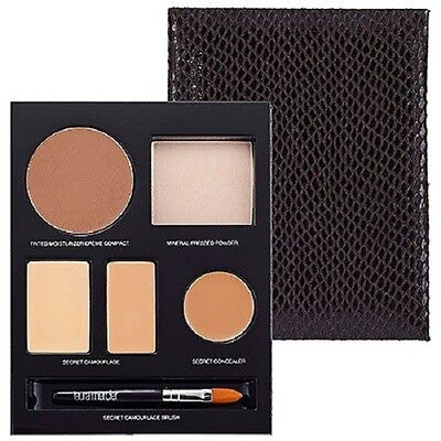 LAURA MERCIER FLAWLESS FACE BOOK SAND Tinted moisturizer Mineral pressed powder