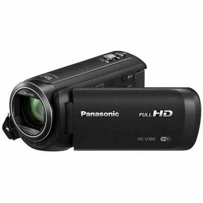 Panasonic HC-V380K HD Camcorder with WiFi Twin Camera