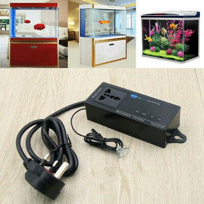 220V 10A Digital Reptile Aquarium Thermostat Incubator Heat Temp Control UK Plug