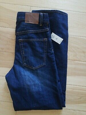 NWT GAP KIDS BOYS  LOOSE FIT CRUNCH DENIM JEANS 12 slim