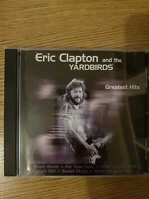 Eric Clapton and the Yardbirds Greatest Hits CD Guter Zustand