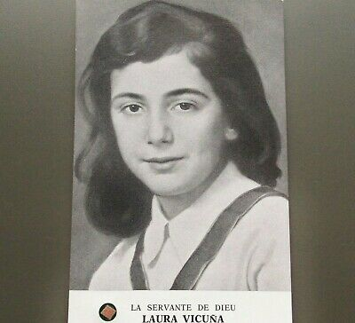 Blessed Laura Vicuna - Rare Reliquary Relic Card