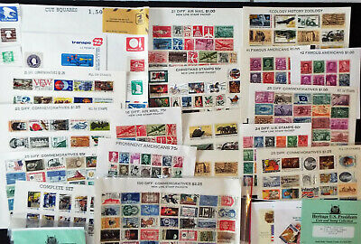 Displayed Us Stamp Collections @ $20 Retail Value