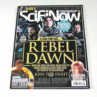 Sci-Fi Now Magazine Issue126  STAR WARS ROGUE ONE  DAVID BOWIE