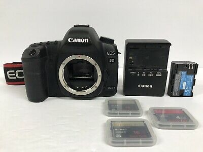 Canon Eos 5D Mark Ii 21.1Mp Digital Slr Camera (Body Only) W/battery & Charger