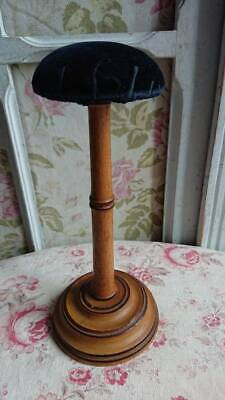 BEAUTIFUL ANTIQUE FRENCH FAUX BAMBOO PORTE CHAPEAU HAT STAND c1890