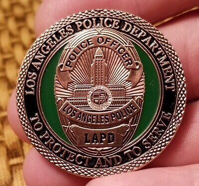 Los Angeles Police Department LAPD G-P Challenge coin 1113#