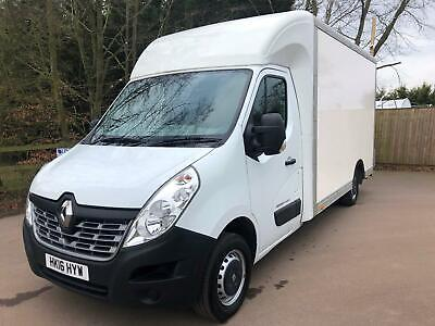 Renault Master 2.3dCi 125ps FWD Business Loloader luton tail lift 2016/16reg
