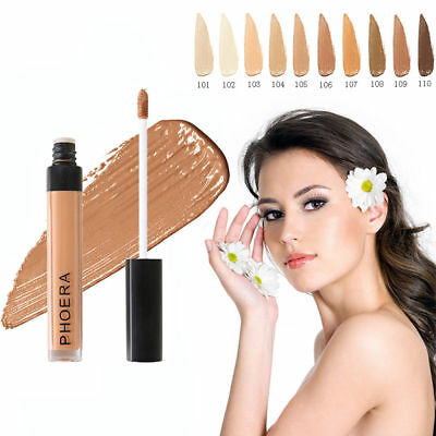 PHOERA® Concealer Contour Full Coverage Liquid Foundation Long lasting