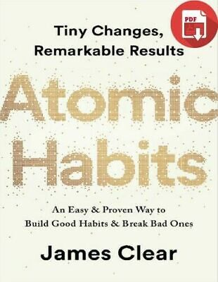 Atomic Habits An Easy & Proven Way to Build Good Habits EPUB