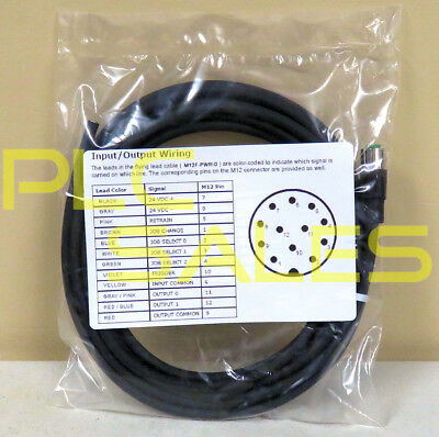 Replacement CCB-PWRIO-05  |  In-Sight Power & IO Breakout Cable Non-OEM  *NEW*