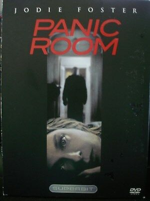 Panic Room (DVD, 2002, The Superbit Collection) WORLD SHIP AVAIL