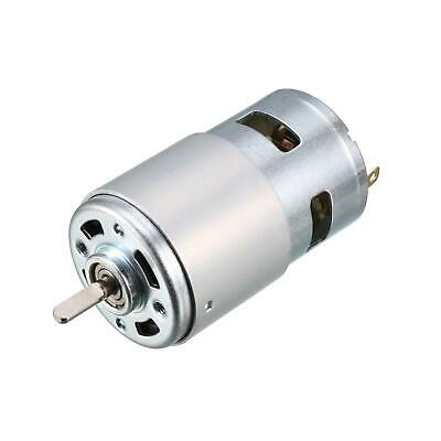 Micro DC Motor 24V 10000RPM 0.4A Magnetic D Shaft for RC Boat Toys DIY Hobby