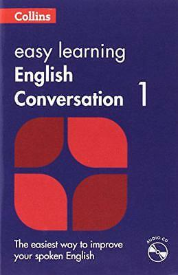 Easy Learning English Conversation: Book 1 (Collins Easy Learning English) by Co