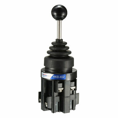 4 Directions 4NO Momentary Monolever Joystick Switch Black
