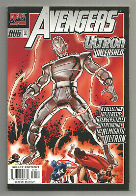 AVENGERS ULTRON UNLEASHED * 1999 * Reprints First Appearance ULTRON and VISION