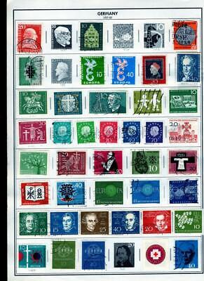 1¢ Wonder's ~ Germany Mint & Used Small Lot On Album Pages All Shown ~ B137