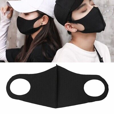 Unisex Washable Earloop Mask Cycling Anti Dust Mouth Face Surgical Respirator