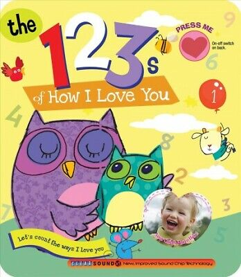 123s of How I Love You, Hardcover by Smart Kidz (COR), Brand New, Free shippi...
