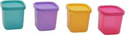 Tupperware Cool Square Mini Beautiful Set, 80ml, 4 Pieces