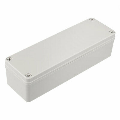 80 x 250 x 65mm Electronic ABS Plastic DIY Junction Box Enclosure Case Grey