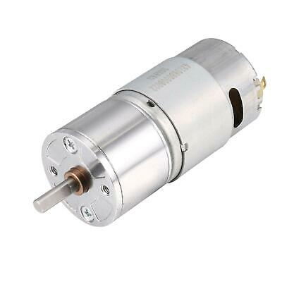 12V DC 150 RPM Gear Motor High Torque Reduction Gearbox Centric Output Shaft