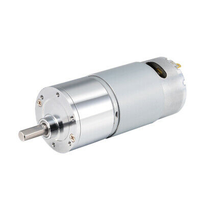 12V DC 300 RPM GearMotor High Torque Reduction Gearbox Eccentric Output D Shaft