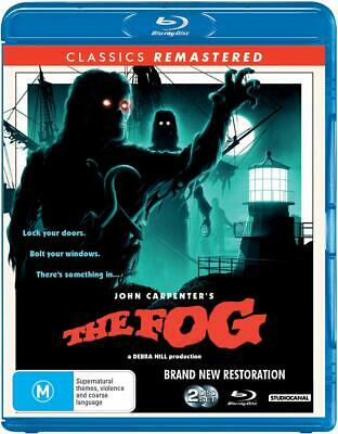 THE FOG (1980 - 2019 Remastered) Horror, Thriller, Classic - NEW Aus RgB BLU-RAY