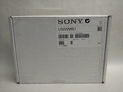 New Sony UNIWMB1 Gooseneck Wall Mount Bracket