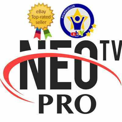 Neo pro 2 abonnement 12 mois fullhd TV box Android kodi iOS VOD vlc
