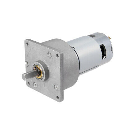 12V DC 150 RPM Gear Motor High Torque Reduction Gearbox Centric Output D Shaft