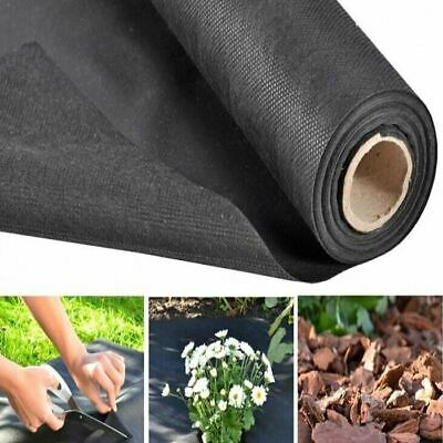 Heavy Duty Weed Control Fabric Ground Cover Sheet Membrane Landscape Garden