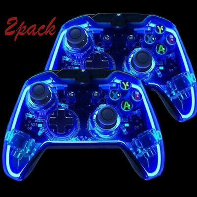 2x For Microsoft Xbox One/ Windows 10  PC Wired Controller Gamepad Joystick