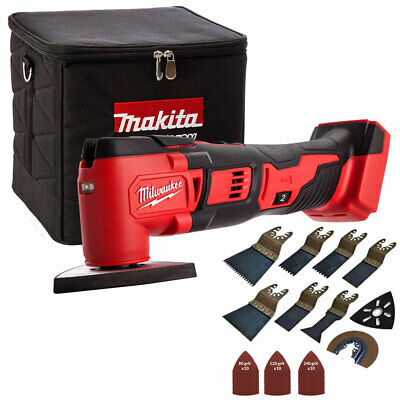 Milwaukee M18BMT-0 M18 18V Multi Tool With Cube Tool Bag & 39pcs Accessories Set